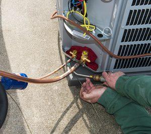 AC Leak test, welding & Gas supply