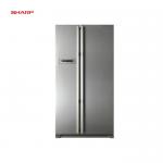 SHARP Side-By-Side Refrigerator (SJ-X66ST-SL) 650 Liters
